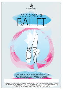 Cartaz Ballet