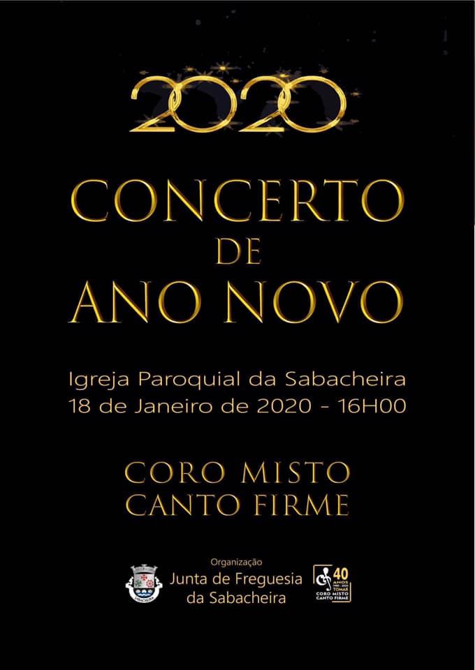 Concerto de Ano Novo Sabacheira