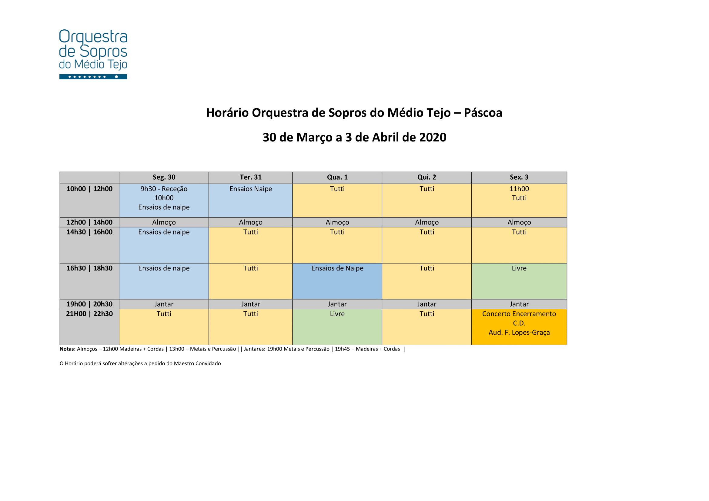 Horário OSMT Páscoa 2020-1
