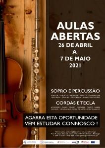 CARTAZ PROFISSIONAIS AULAS ABERTAS 02B